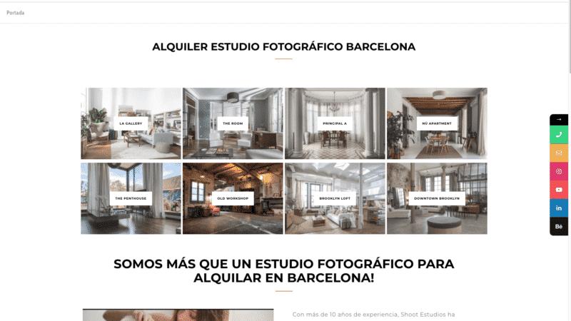 Nueva Web Shoot Estudios