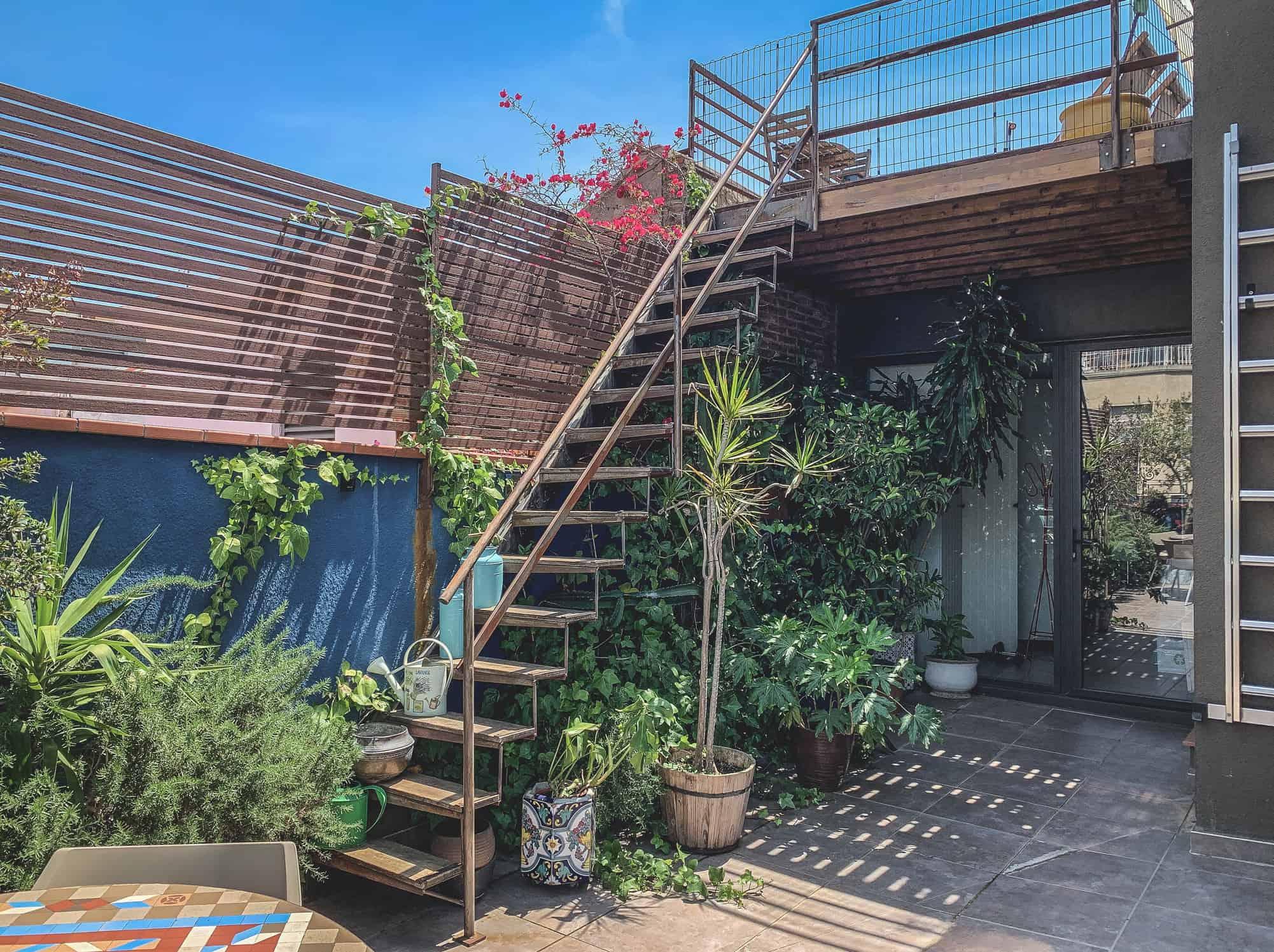 Green-Penthouse jardín