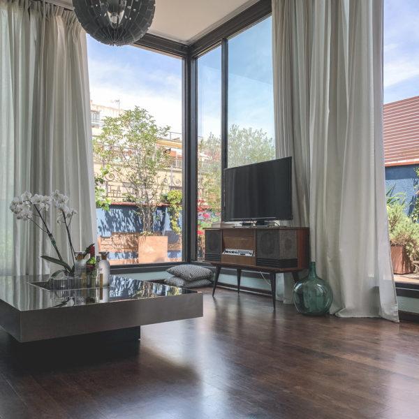 Green-Penthouse salón