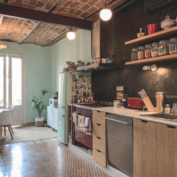 Green-Penthouse cocina