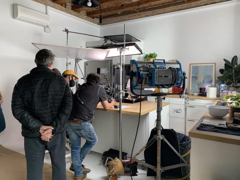 Making of Pescanova en Nü Apartment